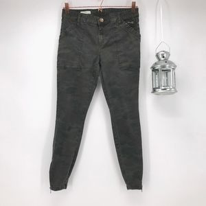 Kut from the Kloth Camo Ankle Skinny Jeans